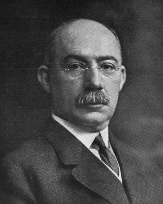 Henry L. Gantt, a Gantt-diagram megalkotója.