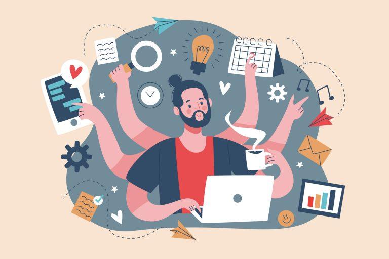 multitasking hatásai